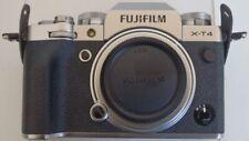 Fujifilm X-T4 Mirrorless 26 MP Digital Camera Body Silver