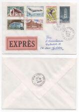 Elizabeth II (1952-Now) French Postal History Stamps