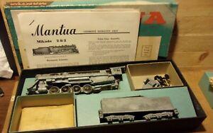 Mantua HO Gauge Operating 2-8-2 Steam Engine Kit #208 NIB