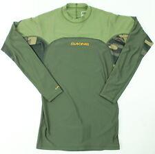 Dakine Mens Wrath Snug Fit L/S Rashguards Field Camo M New