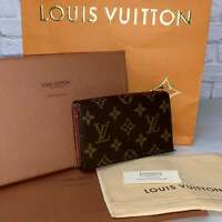 Louis Vuitton Vintage Sarah Porte Wallet Zippy Speedy Neverfull Tresor AUTHENTIC