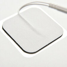 10 x Replacement Pads Massagers /Tens Units electrode pads 5x5cm White Cloth H&P