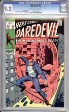 Daredevil # 51 Run, Murdock, Run !  Barry Smith art !  CGC 9.2 scarce book !!