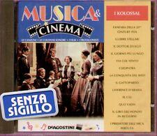 """LE CANZONI, LE COLONNE SONORE, MUSICA & CINEMA, I KOLOSSAL """" CD NUOVO"""