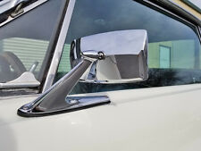 Classic Chrome Door Mirror Ford Lincoln Mercury Mustang Torino Falcon Cougar (Fits: Ford Torino)