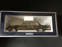 Mercedes Benz 450 SEL 6.9 1976 Schwarz 183458 Norev neu in OVP black new 1:18