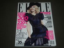 2008 MAY ELLE MAGAZINE - MADONNA COVER - GREAT FASHION - O 8312