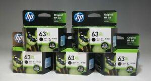 HP 63XL ink cartridge black (increase) F6U64AA 5 set Tracking New