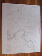 Deferiet New York 1950 Original Vintage USGS Topo Map