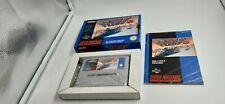Jeu Super Nintendo SNES F-zero complet