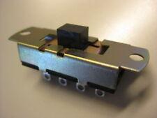 Slide Switch Defond SPDT ON/OFF/ON  6 amp 125 vac (you get 100 ) NEW