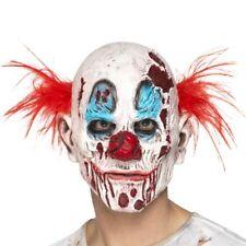 Disfraz de Halloween Zombie Máscara de Payaso con Pelo Nuevo por Smiffys