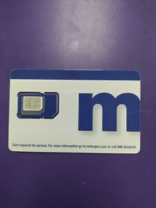 Metro Pcs Sim Card 5 sim pack