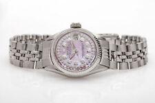 Rolex Datejust Silver Strap Wristwatches