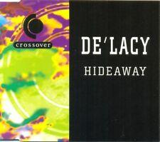 DE'LACY - Hideaway 3TR CDM 1995 / HOUSE / Crossover label