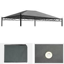 Ersatzbezug für Dach Pergola Pavillon Cadiz 4x3m, grau