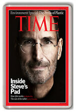 STEVE JOBS TIME MAGAZINE FRIDGE MAGNET IMAN FRIDGE