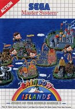 Rainbow Islands - SEGA Master System (Boxed & Good Condition)