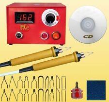 Multifunction Digtal Wood Burning Tool Pyrography Woodburning+DUAl Pen Kit Set