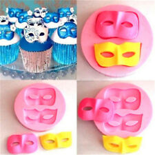 3D Mask Silicone Fondant Mould Cake Decorating Baking Mold Sugarcraft LC