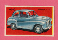 Austin A35 Vintage 1950s Car Collector Card from Sweden