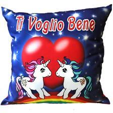 Cuscino Unicorno Ti Voglio Bene San Valentino 45x45 Cm PS 26427
