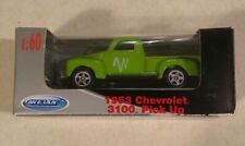 New Welly 1953 Chevrolet 3100 Windstream Pickup Truck Die cast Car Green