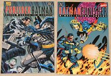BATMAN PUNISHER LAKE OF FIRE & DEADLY KNIGHTS (1994) Set NM (DC Comics)  !!