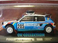 1:43 Dakar PEUGEOT 205 TURBO 16 (1988)  - J.Kankkunen - J.Piironen