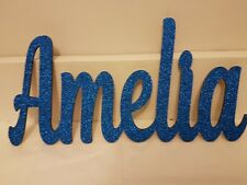 KIDS LETTERS WOODEN NAME SIGN BABY NURSERY  CUSTOM MADE