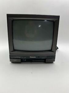 Vintage Panasonic CT-1384Y Color Video Monitor - working