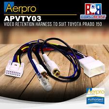 Aerpro APVTY03 Video Retention Harness to Suit Toyota Prado 150
