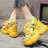 Women's Sport Sandals Platform Wedges Gladiators High Heels Summer Sneakers Boot