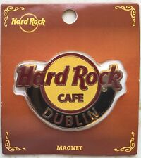 Hard Rock Café Logo Magnet Dublin Ireland Classic Logo Magnet