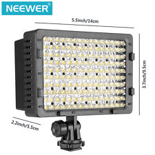 Neewer 2-Pack 160 LED CN-160 Dimmbare Video Licht für DSLR Kameras