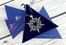Swarovski Christmas Ornament Collectible, 2007 Snowflake, NEW