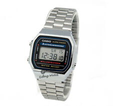 -Casio A168WA-1U Digital Watch Brand New & 100% Authentic