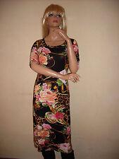 Damenkleider im Boho/Hippie-Stil mit Rundhals für Freizeit und Wadenlang