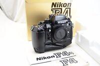 NIKON F4 F4s Gehäuse /Body mit MB-21 (analoge Profikamera), OVP
