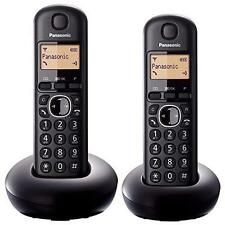 Panasonic KX-TGB212EB Twin DECT Callblock Function Digital Cordless Phones - New