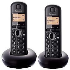 Panasonic kx-tgb212eb TWIN DECT funzione callblock DIGITALE telefoni cordless-NUOVO