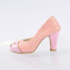 """Sherry Pink Matte 16"""" Tonner Ellowyne Wilde Shoes Sandals Clothes Doll 96ES12"""