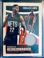 2019-20 NBA HOOPS CARIS LEVERT GU JERSEY ROOKIE REMEMBRANCE BROOKLYN NETS RC
