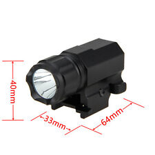 2000LM R5 LED Tactical Gun Flashlight Rifle Mount Hunting Light Shotgun Torch