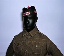 Banjoman 1:6 Scale Custom Made Glengarry Cap - Royal Scots