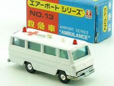 Bandai No.13 Airport Series Ambulance Krankenwagen MIB OVP SG 1411-22-43