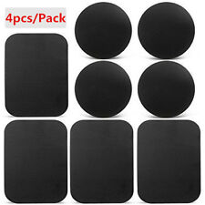 4Pcs/Lot Replacement Metal Plates Sticker for Magnetic Mobile Phone Mount Holder
