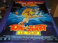 AFFICHE  ANIMATION / BARBERA / TOM ET JERRY LE FILM