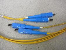 LUCENT Minicord Optical Fiber Cable Single Mode MS2SC-SC010 10 FEET  **NEW**