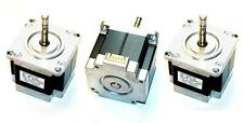 Lot of 3 Nema 23 Stepper Motors 2A Motor Mill Robot Lathe RepRap
